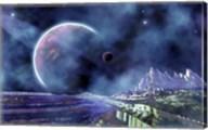 Fantasy Alien World Fine-Art Print