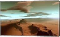 Overhead view of a vast desert wilderness Fine-Art Print