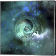 A gorgeous nebula in outer space Fine-Art Print