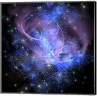 A spacial phenomenon in the cosmos Fine-Art Print