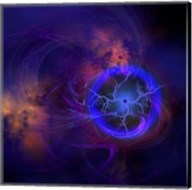 Cosmic forces out in space Fine-Art Print