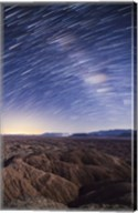 Milky Way above the Borrego Badlands, California Fine-Art Print