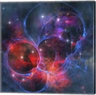 A dark nebula is a type of interstellar cloud Fine-Art Print