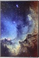 NGC 7380 Emission Nebula in Cepheus Fine-Art Print