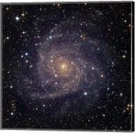 IC 342, an intermediate spiral galaxy in the constellation Camelopardalis Fine-Art Print