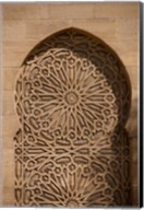 Morocco Casablanca Palace, Moorish Architecture Fine-Art Print