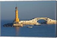 Lighthouse, Alexandria, Mediterranean Sea, Egypt Fine-Art Print