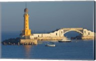 Lighthouse, Alexandria, Mediterranean Sea, Egypt Fine-Art Print