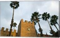 MOROCCO, Souss, Hotel Palais Salam Palace, Ramparts Fine-Art Print