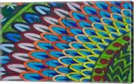 Green Mosaic, Library, Mediterranean, Alexandria, Egypt Fine-Art Print