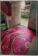 Paper fans made at the Fuli Village Paper Fan Workshop, Yangshuo, China Fine-Art Print