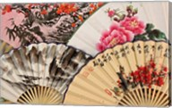 Paper fans, Fuli Village paper fan workshops, Yangshuo, China Fine-Art Print