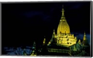 Night View of Ananda Pahto, Myanmar Fine-Art Print