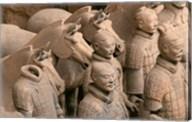 Terra Cotta Warriors and Horses at Emperor Qin Shihuangdi's Tomb, China Fine-Art Print