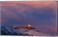 Sunset on Mt. Everest, Tibet, China Fine-Art Print