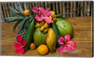 Tropical Fruit on Praslin Island, Seychelles Fine-Art Print