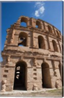 Tunisia, El Jem, Colosseum, Ancient Architecture Fine-Art Print