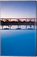 Tunisia, Jerid Area, Tozeur, Hotel El Mouradi Pool Fine-Art Print