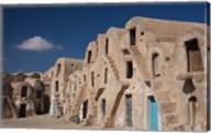 Tunisia, Ksour, Medenine, fortified ksar building Fine-Art Print