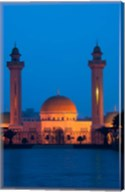 Tunisia, Monastir, Mausoleum, evening Fine-Art Print