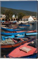 Tunisia, Northern Tunisia, Ghar el-Melh, fishing boat Fine-Art Print