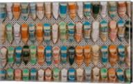Tunisia, Tunis, Carthage, Market, babouches slippers Fine-Art Print