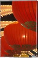 Traditional Red Lanterns, China Fine-Art Print