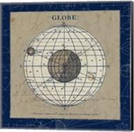 Globe Blue Fine-Art Print
