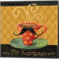 Cafe Moustache III Square Fine-Art Print