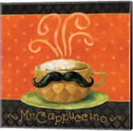 Cafe Moustache IV Square Fine-Art Print