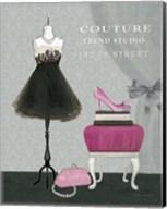 Dress Fitting Boutique III Fine-Art Print
