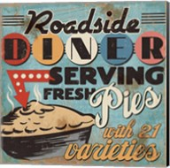 Diners and Drive Ins II Fine-Art Print