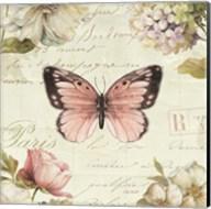 Marche de Fleurs Butterfly I Fine-Art Print
