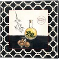 Oregano and Mushrooms Fine-Art Print