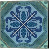 Santorini Tile II Fine-Art Print