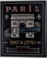 Travel to Paris II Fine-Art Print
