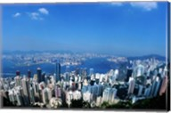 Majestic Hong Kong Harbor from Victoria Peak, Hong Kong, China Fine-Art Print