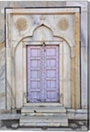 Lavender colored door, Taj Mahal, Agra, India Fine-Art Print