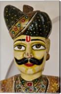 Statue Head, Raj Palace Hotel, Jaipur, India Fine-Art Print