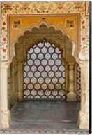 Archway, Amber Fort, Jaipur, India Fine-Art Print