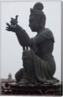 Tian Tan Statues, Hong Kong, China Fine-Art Print