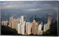 View From The Peak, Hong Kong, China Fine-Art Print