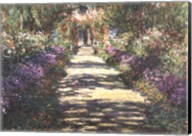 Garden at Giverny Fine-Art Print