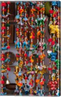 Colorful souvenirs, Pushkar, Rajasthan, India. Fine-Art Print