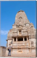 Jain Temple in Chittorgarh Fort, Rajasthan, India Fine-Art Print