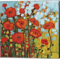 Red Poppy Field Fine-Art Print
