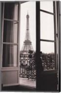 Eiffel Tower through French Doors Fine-Art Print
