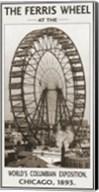 The Ferris Wheel, 1893 Fine-Art Print