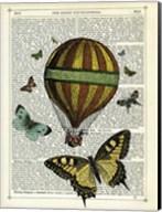 Butterflies & Balloon Fine-Art Print