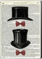 Top Hat & Bow Ties Fine-Art Print